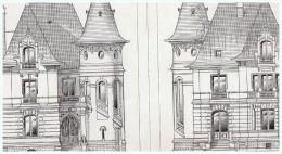 Plan D Architecte Architecture  Hautes-maisons Maison De Chasse - Vieux Papiers