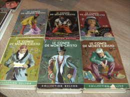 collection nelson avec jaquette : 6 tomes (complet) le comte de monte-cristo dumas