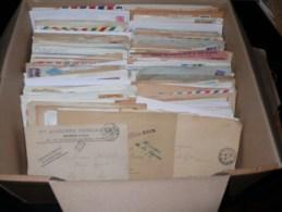 Lot de +700 lettres et documents - France Monde Thematiques, FDC, EMA, flammes, entiers postaux,  voir photos