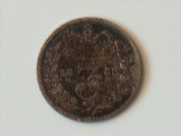 Grande-Bretagne 3 PENCE 1838 - 1816-1901 : Frappes XIX° S.