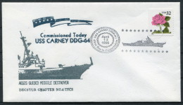 1996 US Navy Ship Cover USS CARNEY DDG 64 - United States