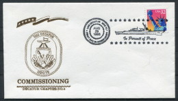 1998 US Navy Ship Cover USS DECATUR DDG 73 - United States