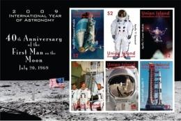 UNION ISL. Of ST.VINCENT ; SCOTT # ; IGPC 0907 SH ; MINT N H STAMPS (  SPACE EXPLORATION - St.Vincent & Grenadines