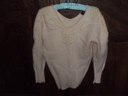 PULL ROSE    Laine   VINTAGE - Vintage Clothes & Linen