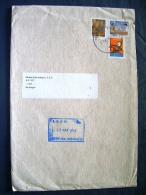 Brazil 2014 Cover To Nicaragua - Shoe Maker - Painting - Postal Service Letter Sending - Brazil