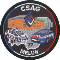 Gendarmerie - C.S.A.G. MELUN - Police & Gendarmerie