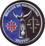 Gendarmerie - Brigade De Recherches VAUVERT 30 - Police