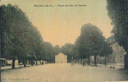 64.MAULEON PLACE DU JEU DE PAUME - Mauleon Licharre