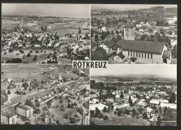ROTKREUZ Mehrbilder-Flugaufnahmen Ca. 1960 - ZG Zoug