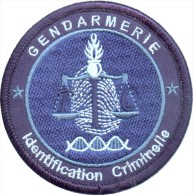 Gendarmerie - Technicien En Identification Criminelle BV Bleu - Police & Gendarmerie