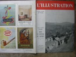 L'ILLUSTRATION 5276-5277 ROUEN / COSAQUES/ HANOTAUX/ ARMAGNAC/ NOTRE  DAME DE BOULOGNE  22-29 Avril 1944 - Newspapers