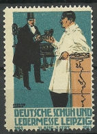 1913 Deutsche Schuh - Und Ledermesse Leipzig MNH - Cinderellas