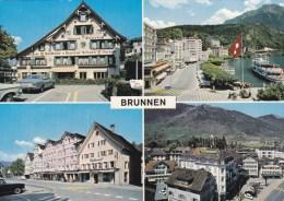 BRUNNEN  CAR  AUTO  SCHIFF  BOAT - SZ Schwyz