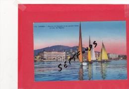 CPA : CANNES Vue Sur La Croisette Et Les Grands Hôtels - Cannes