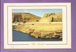 EGYPTE  - ABU SIMBEL -  Grand Format : 17 X 11 Cm - Tempel Von Abu Simbel