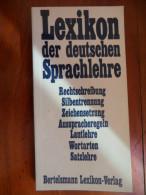Lexikon der deutschen Sprachlehre / de 1969