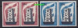 Europa Cept 1956 Netherlands 2v (pair) ** Mnh (15279) - Europa-CEPT