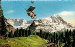 GRINDELWALD-FIRSTBAHN MIT EIGER UND FIESCHERWAND-télésiège - BE Berne