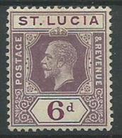 140017514  ST LUCIA  YVERT   Nº  65  */MH - St.Lucia (...-1978)