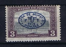 Romenia, Occupation Of Hungary, Debrecen Debreczin Mi. 31 B  MH/* - 1918-1948 Ferdinand, Carol II & Michael