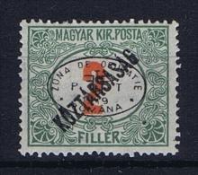 Romenia, Occupation Of Hungary, Debrecen Debreczin Mi. Porto Nr 11  MH/*  Signed/ Signé/signiert/ Approvato - 1918-1948 Ferdinand, Carol II & Michael