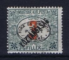 Romenia, Occupation Of Hungary, Debrecen Debreczin Mi. Porto Nr 3  MH/*  Signed/ Signé/signiert/ Approvato - 1918-1948 Ferdinand, Carol II & Michael