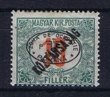 Romenia, Occupation Of Hungary, Debrecen Debreczin Mi. Porto Nr 13  MH/*  Signed/ Signé/signiert/ Approvato - 1918-1948 Ferdinand, Carol II & Michael