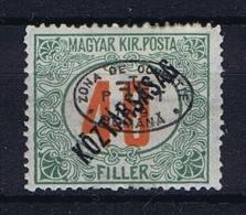Romenia, Occupation Of Hungary, Debrecen Debreczin Mi. Porto Nr 15  MH/*  Signed/ Signé/signiert/ Approvato - 1918-1948 Ferdinand, Carol II & Michael