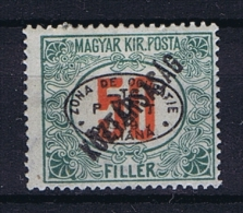 Romenia, Occupation Of Hungary, Debrecen Debreczin Mi. Porto Nr 16  MH/*  Signed/ Signé/signiert/ Approvato - 1918-1948 Ferdinand, Carol II & Michael