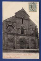 16 CHATEAUNEUF SUR CHARENTE Façade De L'église - Animée - Chateauneuf Sur Charente