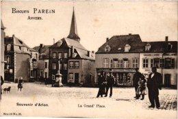 Luxembourg  4 CP Arlon   Gr Place Pub Parein Caserne1911  Château Ansch 1909 Château Du Bois D'Arlon 1906 - Arlon