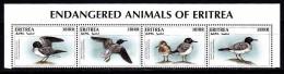 ERITREA. 1996. BIRDS. 4V, COMPLETE SET. MNH** - Pájaros