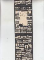 6000 FRANKFURT, 3-teilige Mikroscop-Karte, U.a.. 2 Synagogen, Niederrad...., 190... - Frankfurt A. Main