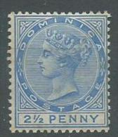 140017569  DOMINICA  YVERT   Nº  21 */MH - Dominica (...-1978)