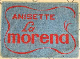 Publicité Anisette La Morena Apéritif Tapis De Jeux Advertising Vintage 61x44.5cm Alcool Port Inclus France Metropole - Alcools