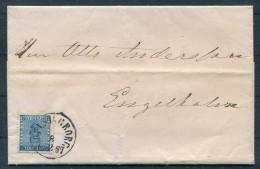 1867 Sweden Helsingborg - Engelholm 12 Ore Vapen Coat Of Arms