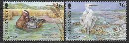 Europa Cept 2001 Guernsey 2v ** Mnh (15302) - Europa-CEPT