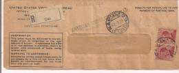 UNITED STATES VETERANS BUREAU, AMERICAN CONSULATE ,NAPOLI,1925, PAGAMENTO PENSIONE A  MOGLI DI MILITARI MORTI IN USA, - 1914-18