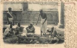 CALCUTTA NIMTOLA BURNING GHAT - Inde