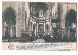 23310 Kortrijk - Courtrai Eglise Notre Dame Choeur Et Transept - Kortrijk