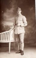 Cpa Photo 1922, Jeune Soldat, Studio Vidal  (43.13) - Guerre, Militaire