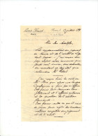 LETTRE DE NAMUR - 1899 AVOCAT L. HUART - Manuscrits
