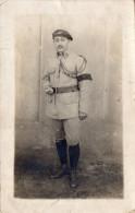 """Cpa Photo 1920, Militaire Du 92ème..., Béret Avec Ornement, Fouragère, """"souvenir De L'occupation De Croisdoz,  ( 43.13) - Guerre, Militaire"""