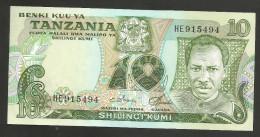 [NC] TANZANIA -10 SHILINGI (1978) - Tanzania