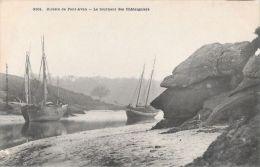CPA  RIVIERE DE PONT AVEN   **  LE TOURNANT DES CHATAIGNIERS - Pont Aven