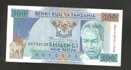 [NC] TANZANIA - 100 SHILINGI (1993) - Tanzania