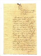 LETTRE D ANVERS  - 1791 POUR LE CONSEIL DE BRABANT - Manuscrits