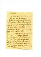 LETTRE DE LIEGE  1766 - CAPITAINE DE JEMEPPE DE MALPAS - Manuscrits