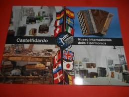 B354 Castelfidardo Rieti Patria Della Fisarmonica No Viagg. - Andere Städte