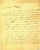 LETTRE DE LIEGE - JEMEPPE -   1766 - CAPITAINE  MALPAS DE JEMEPPE - Manuscrits